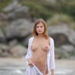 Классная грудь у девушки