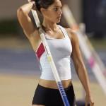 Красавица спортсменка Allison Stokke