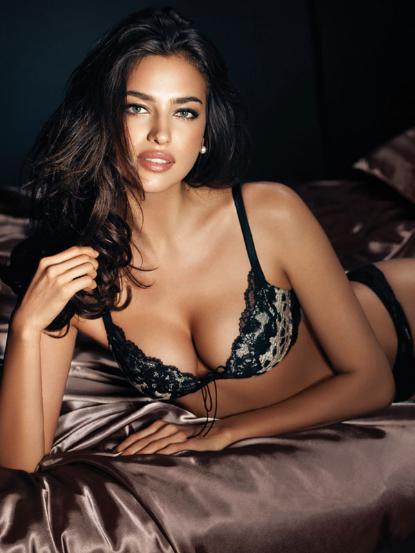 Bed irina shayk in