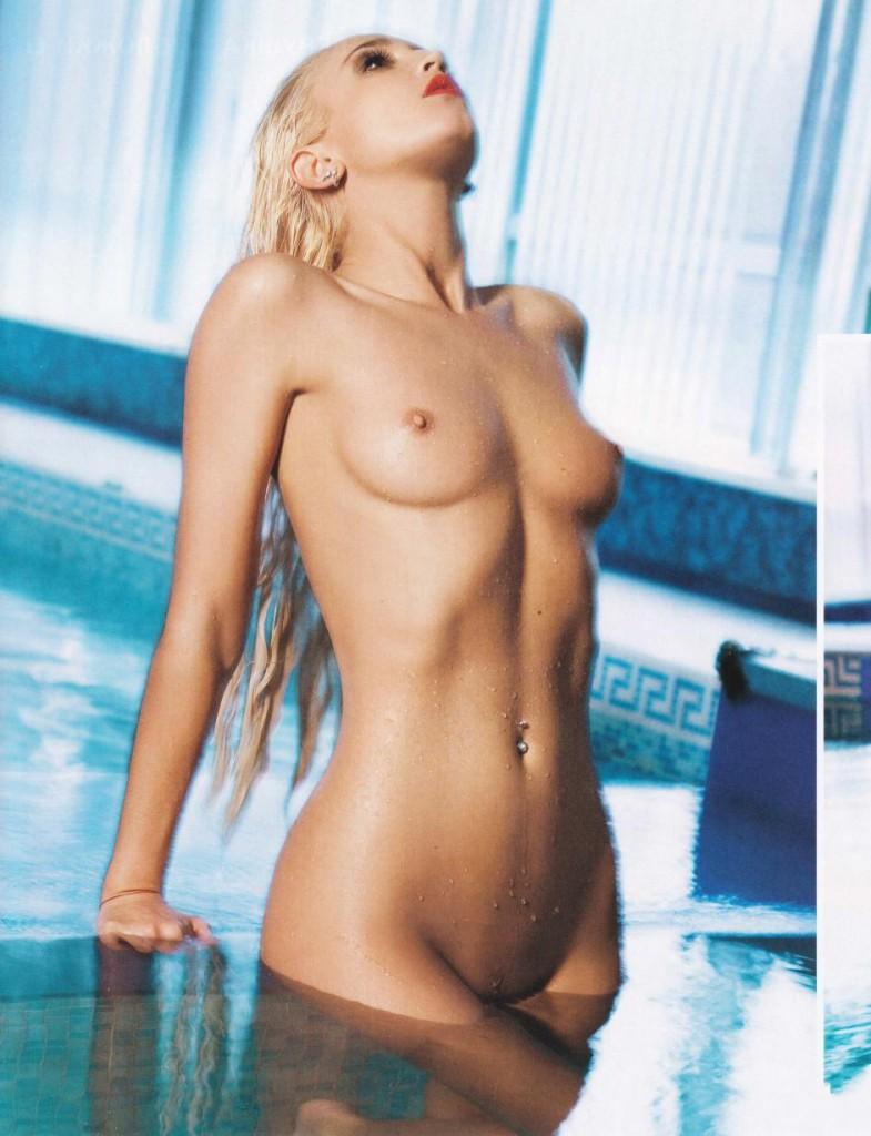 Ольга Бузова в журнале Playboy