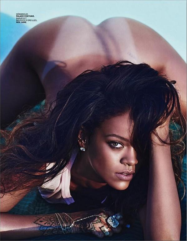 Rihanna Nude For Lui Magazine (6)