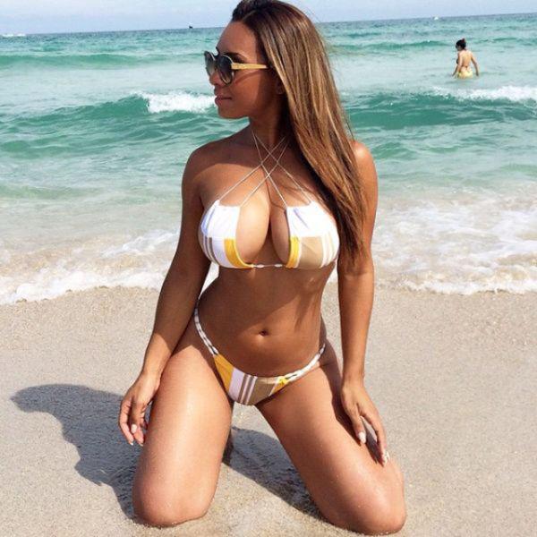 Обалденная бразильянка Pam Rodriguez с огромной грудью
