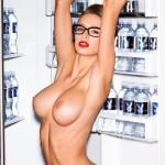 Шикарная модель плейбоя Emily Agnes